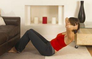 Домашние занятия фитнесом