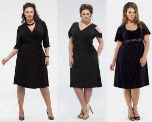 Платье для полных девушек