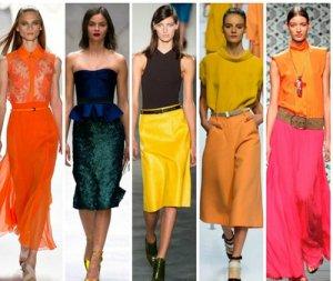 Модные тренды весны 2015