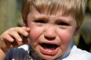 Детские истерики: способы борьбы