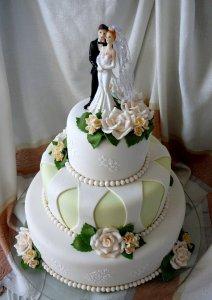 Какой выбрать свадебный торт