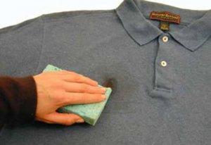 Как убрать ржавчину с одежды