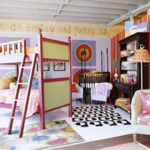 Дизайн детской, учитывая возраст детей
