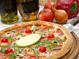 Пицца в духовке за полчаса